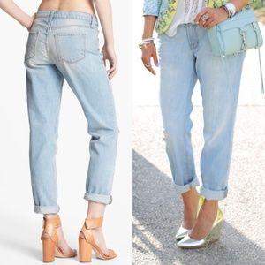 J Brand Aiden Boyfriend Jeans in Meadow